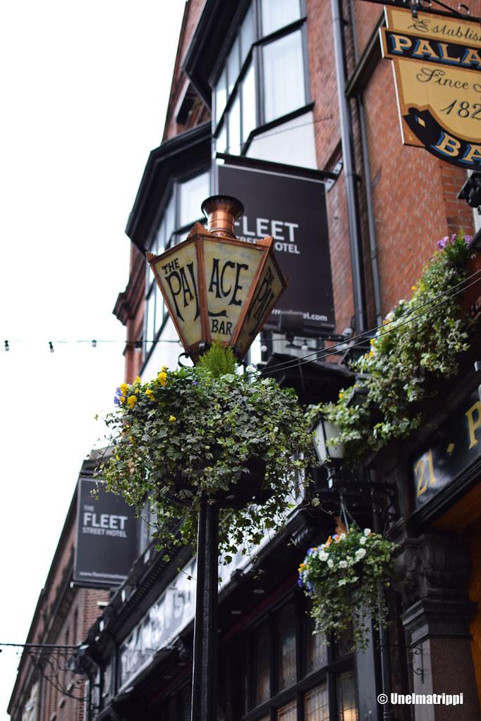 Kadunkulma Dublinin Fleet streetillä