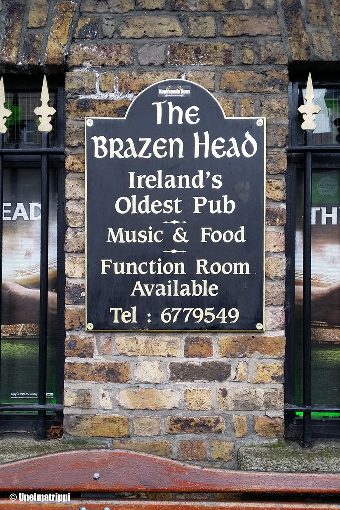 Dublinin vanhin baari the Brazenhead