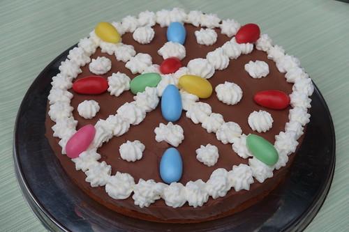 Schokoladentorte als Ostertorte