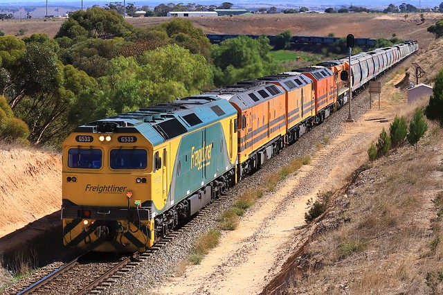 1281S G533, ALF18, CLF5, CLP8 & GWA002 Murray Bridge