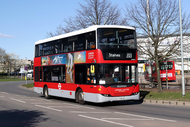 Route 203, London United, SP40102, YT59SHJ