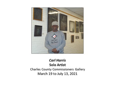 March - July 2021 Carl Harris @ Commissioners Gallery