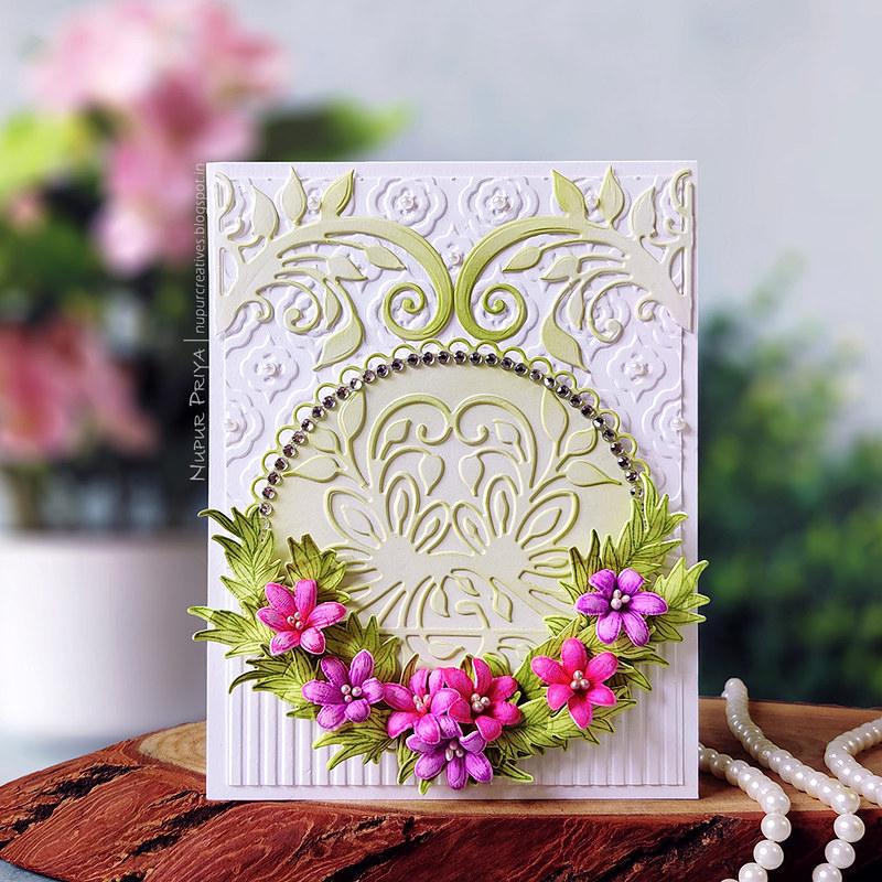 floral wreath card_Nupur Priya_01