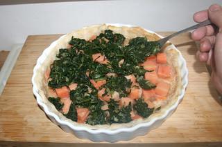 22 - Add leaf spinach / Blattspinat hinzufügen