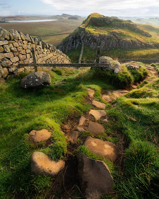 Sunrise on Hadrian's wall from a couple of years ago. Looking forward to going back in the coming weeks! #hadrianswall #photooftheday #instagood #picoftheday #bestoftheday #danlowphoto #explorepage #england #goodvibes #house_of_tones #igpodium #keepgoing