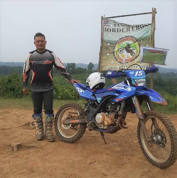 Andy Sufyan, konsumen WR 155 R