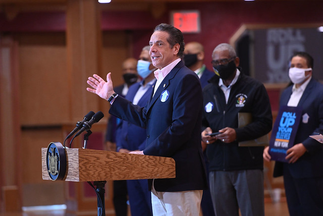 """GOVERNOR CUOMO ANNOUNCES STATEWIDE LAUNCH OF """"ROLL UP YOUR SLEEVE"""" CAMPAIGN AND ENCOURAGES NEW YORKERS AGE 16-PLUS WHO ARE ELIGIBLE FOR THE COVID-19 VACCINE TUESDAY, APRIL 6 TO SCHEDULE AN APPOINTMENT"""