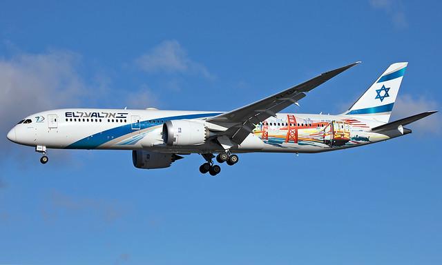 4X- EDD - Boeing 787-9 Dreamliner - LHR