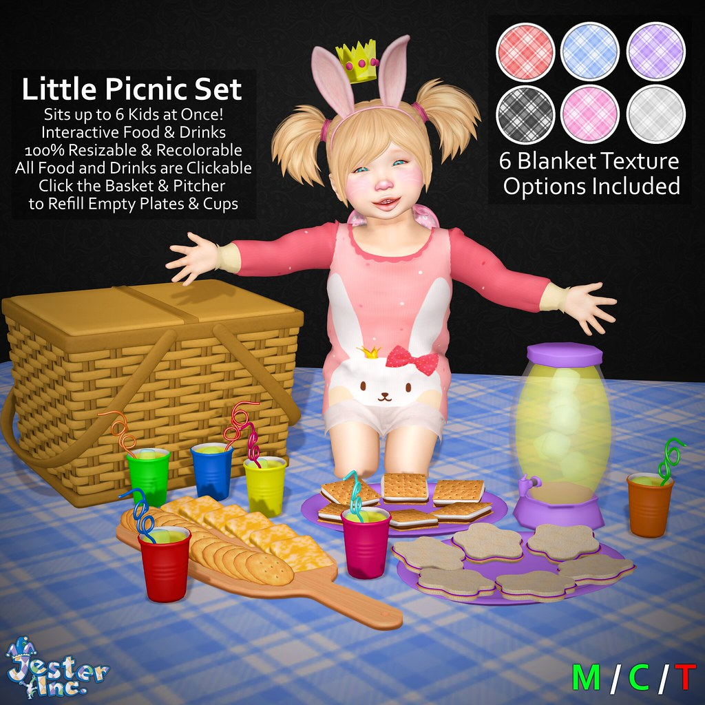 Presenting the new Little Picnic Set from Jester Inc.