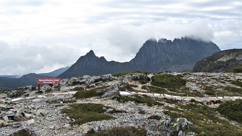Day 1: Cradle Mountain from Marion's Lookout