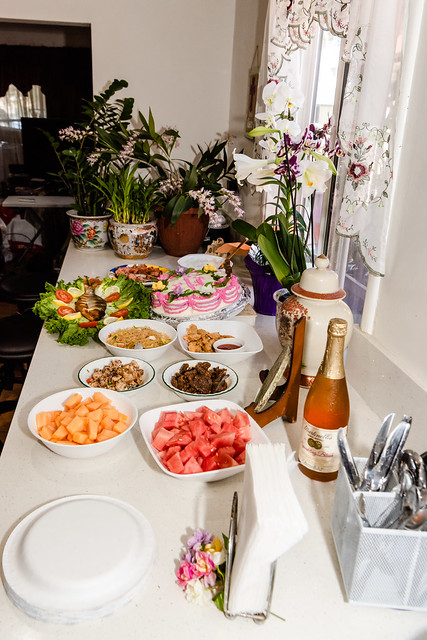 Resurrection Sunday Family Lunch at Home