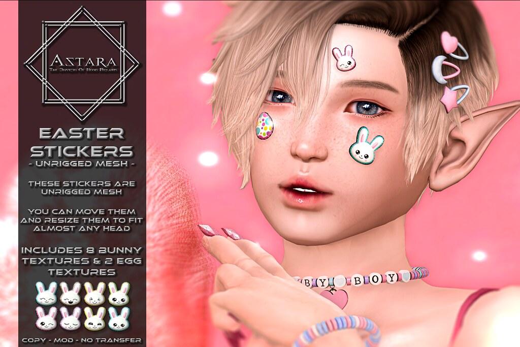 Astara - Easter Stickers Ad