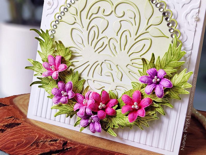 floral wreath card_Nupur Priya_02