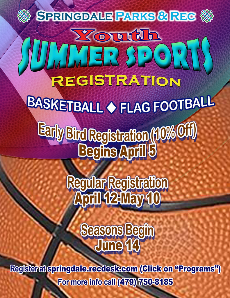 Summer Registration Flyer 2021