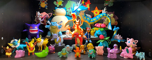 At Home- Pokemon Figure Collection In Scale