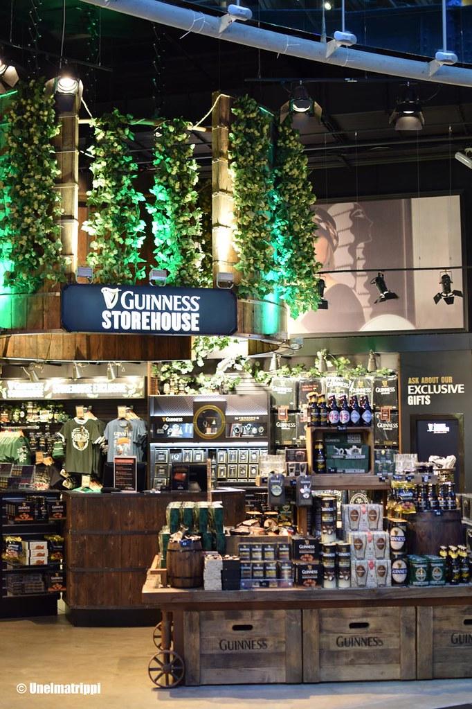 Guinness Storehousen myymälä