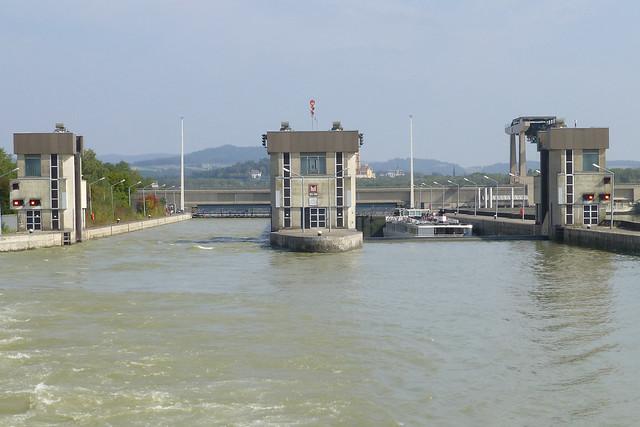 Schleuse Melk, Lower Austria.