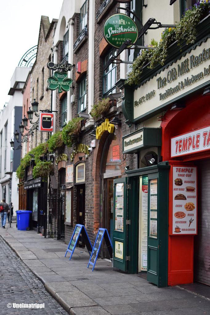 Baarikadulla Dublinissa