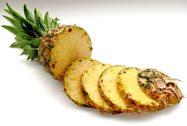 What does eating a lot of pineapples do