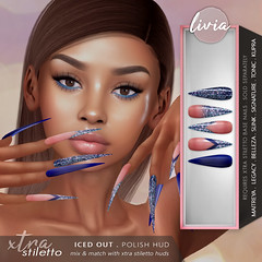 LIVIA // Xtra Stiletto - Iced Out HUD