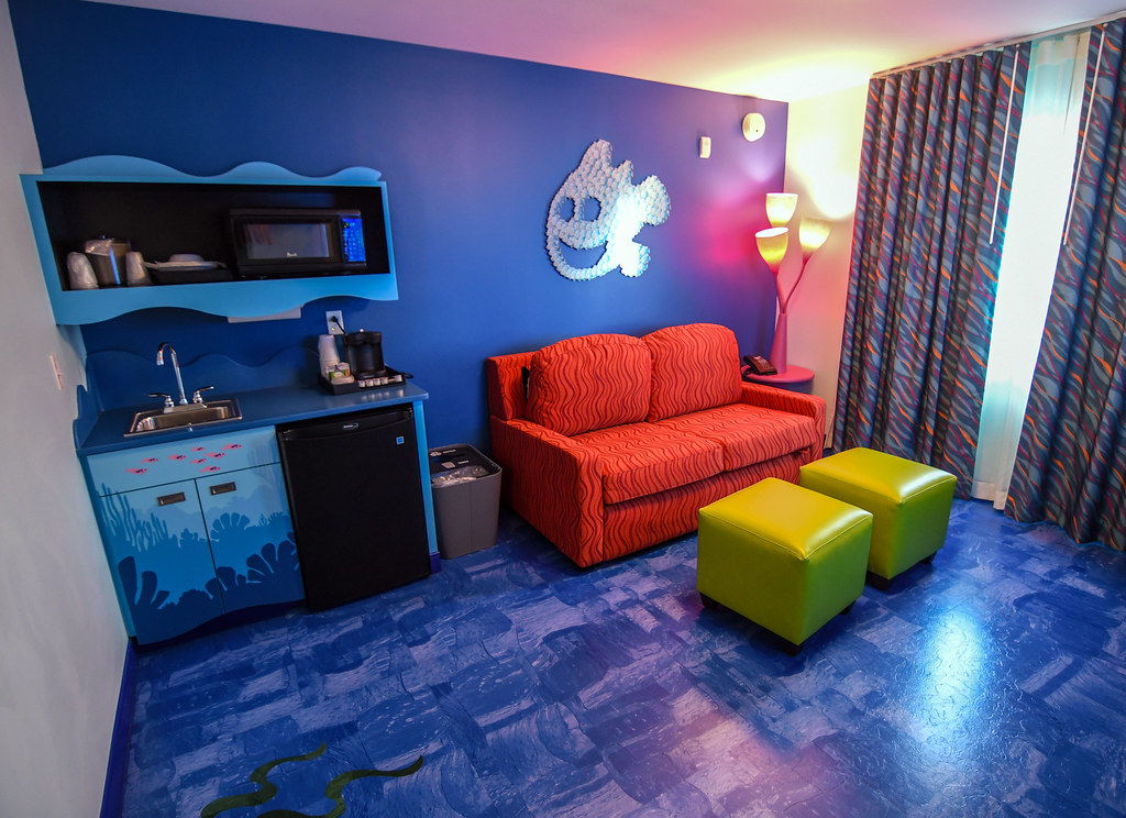 Art of Animation Family Suite couch