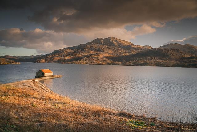 Loch Katrine boat shed