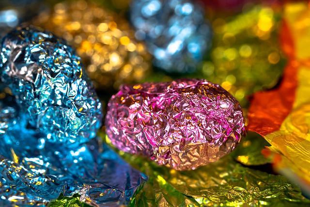 Macro Mondays: Trash: Easter Candy Foil