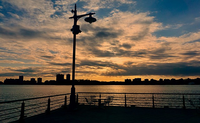 The right spot - Chelsea Piers, New York City