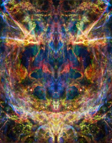 Veil Nebula detail mirrored