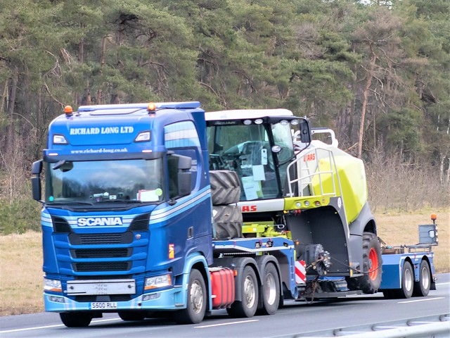 Scania S-series highline, from Richard Long, United Kingdom.