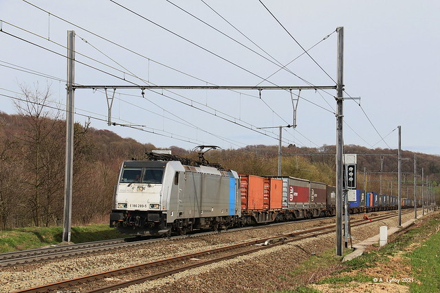 Railtraxx 186 289-5 Sint Martens Voeren Fouron Saint Martin 28-03-2021
