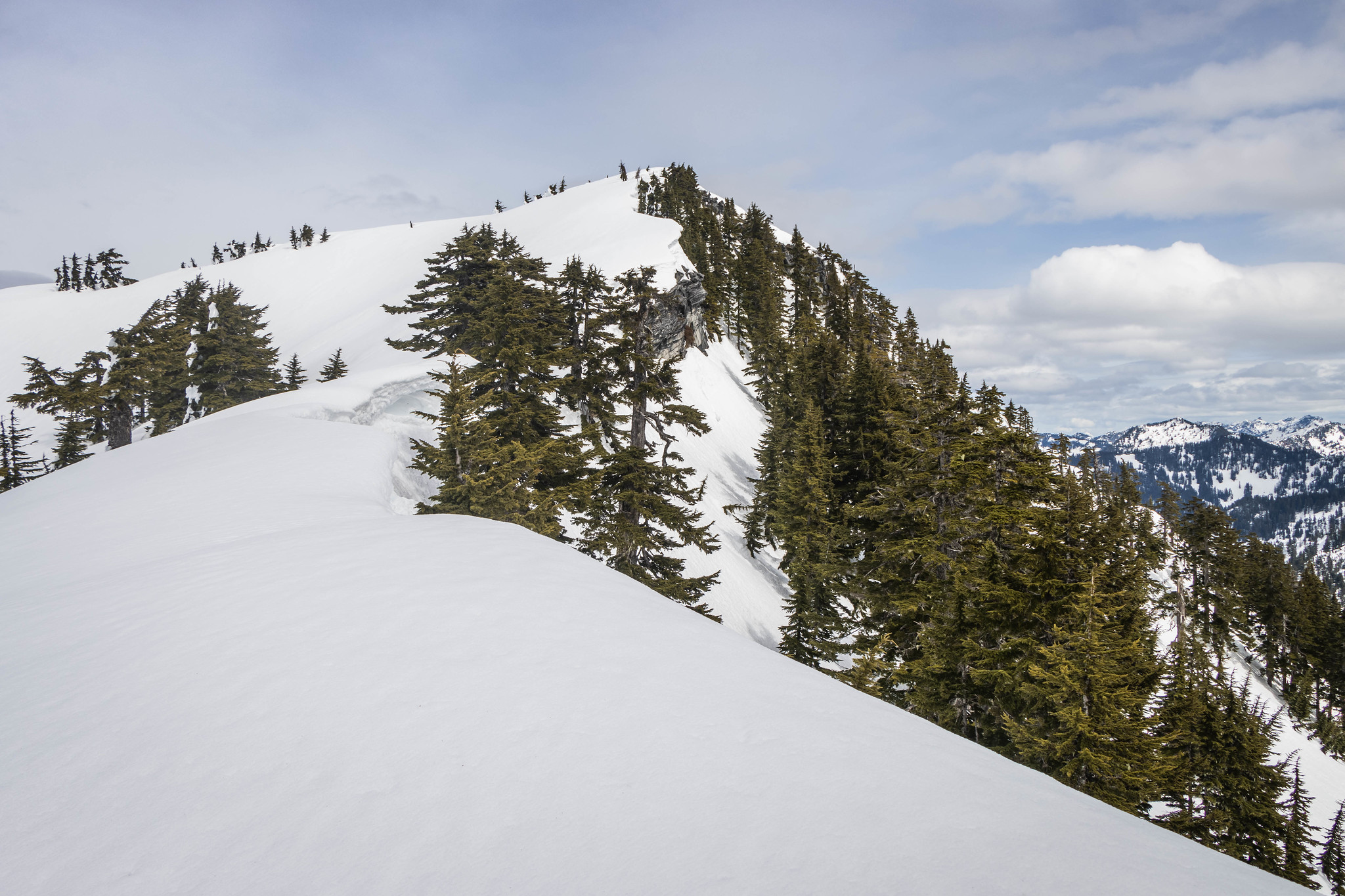 Paperboy's southwest ridge