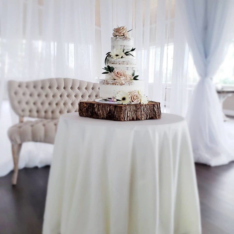 Cake by Blue Willow Bakery