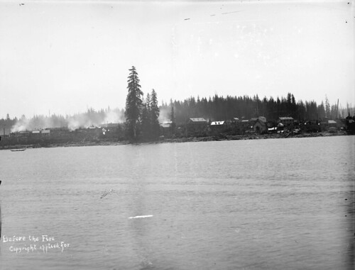 LGN 451 - [Vancouver waterfront] before the fire [of 1886]