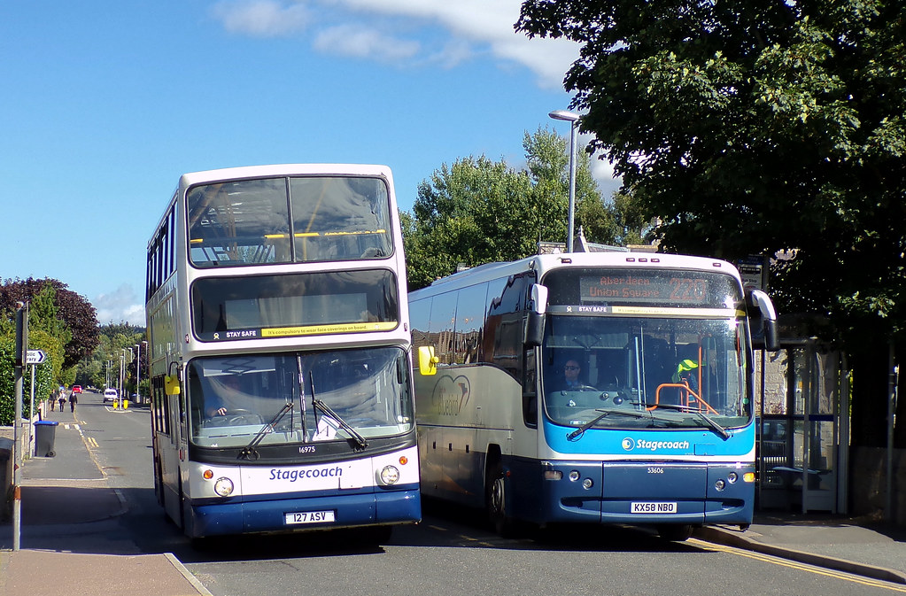 Stagecoach Bluebird 16975 127ASV & 53606 KX58NBO (1st September 2020)