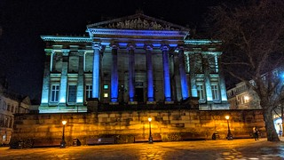 Harris Museum at night | by Tony Worrall