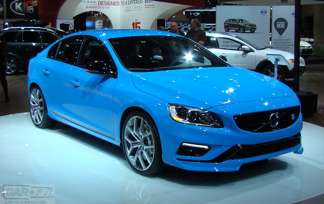 Volvo S60 Polestar at 2014 CIAS