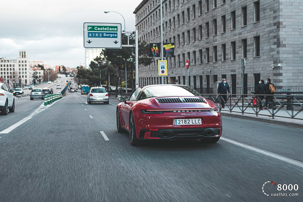 Porsche 911 Targa 4S -  8000vueltas-80
