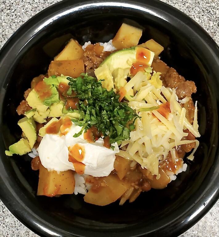 picadillo (mexican hamburger stew) 2