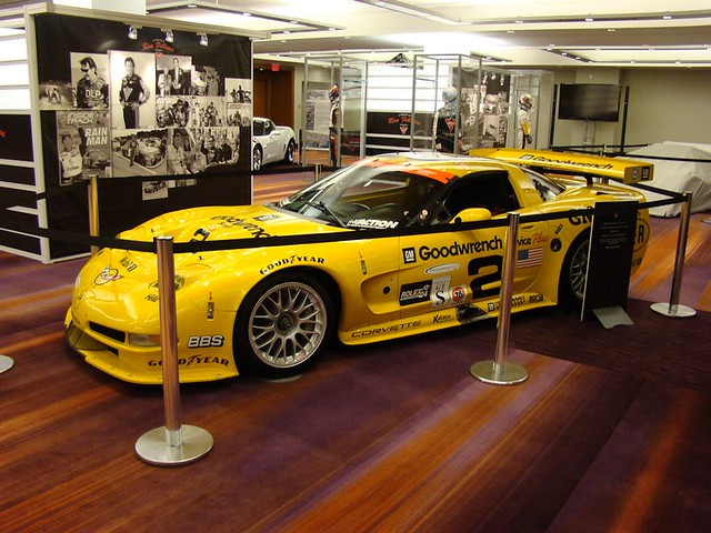 2001 Chevrolet Corvette C5-R at Ron Fellows Showcase