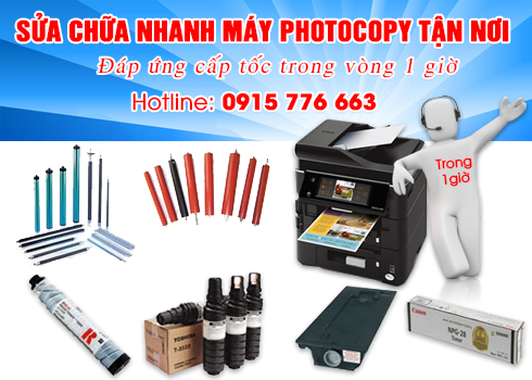 Chuyên cho thuê Máy photocopy Cần Thơ 0915 32 6788
