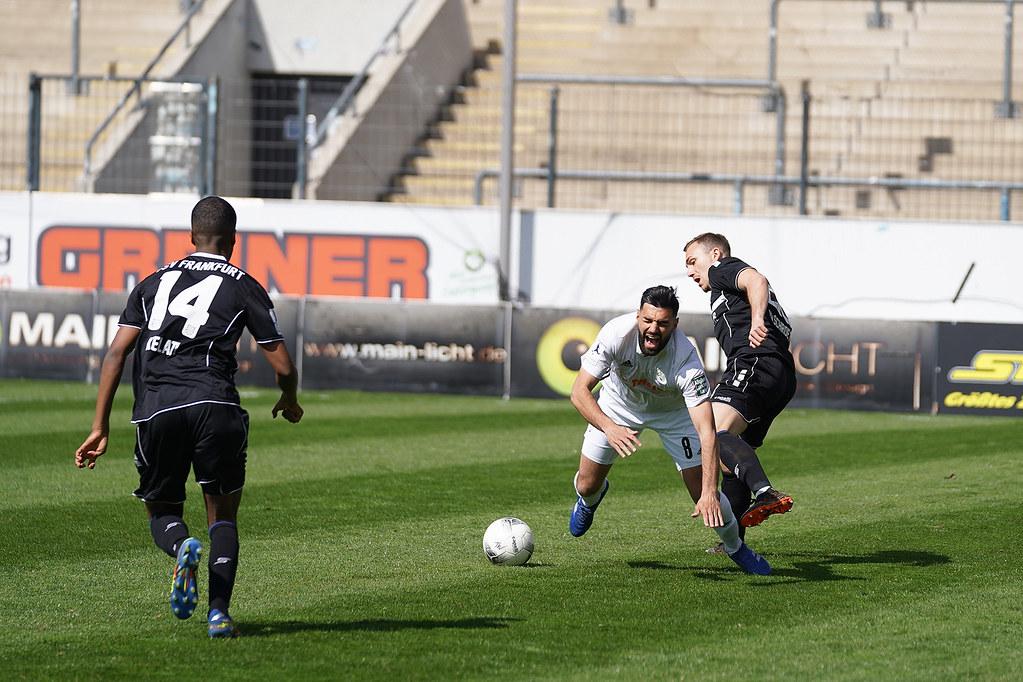 03.04.2021 | Saison 2020/21 | FC 08 Homburg | FSV Frankfurt