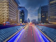 Rue de la Loi ( Bruxelles ) by vanregemoorter