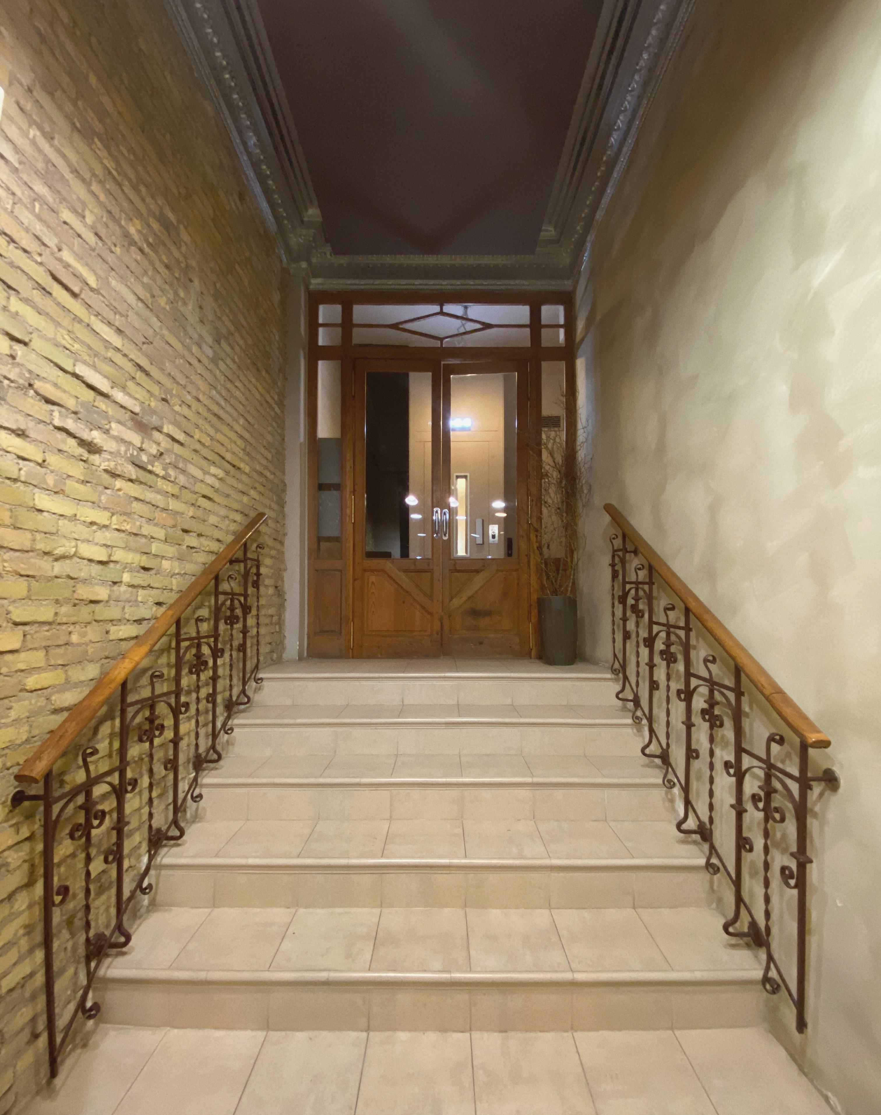 Interior del número 8 de Miguel de Cervantes
