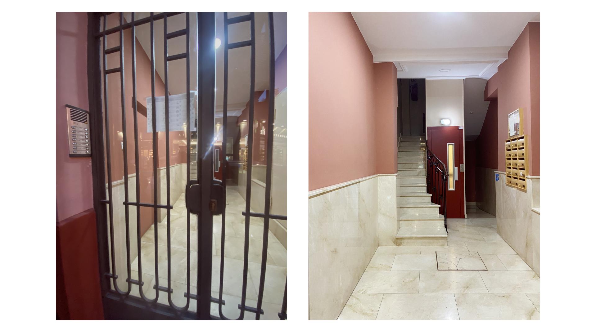 Exterior e interior del número 4 de Miguel de Cervantes