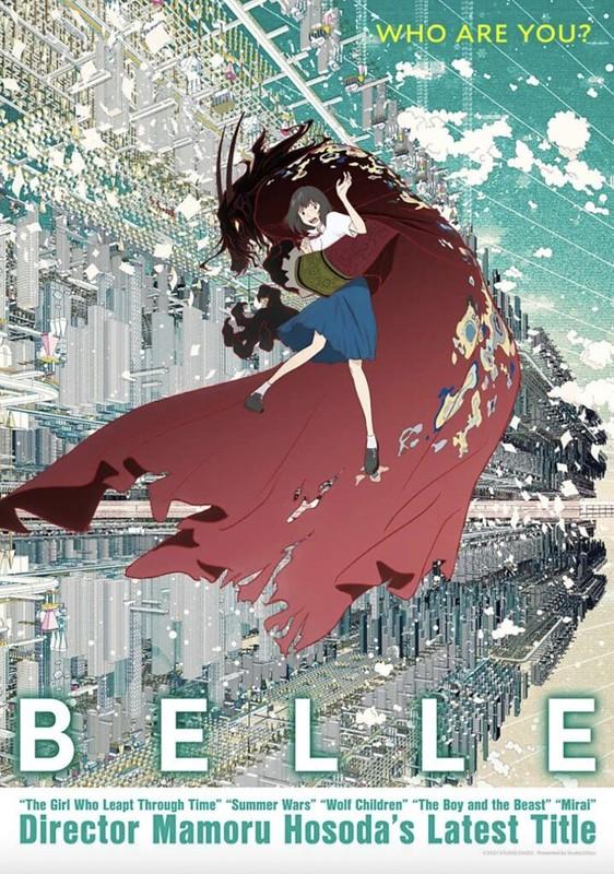 BELLE by Mamoru Hosoda English Poster
