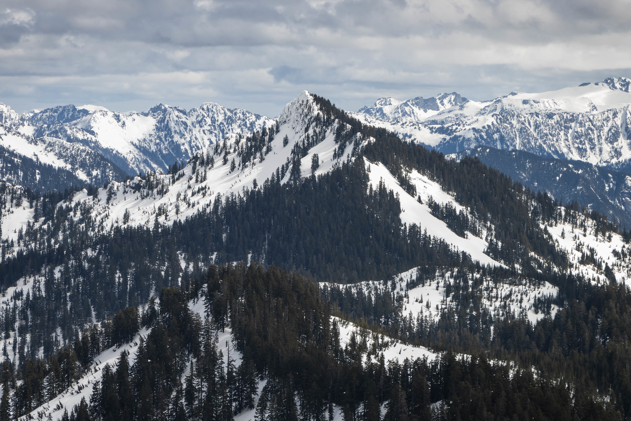 The Ark (Rooster Mountain) to the east of Paperboy