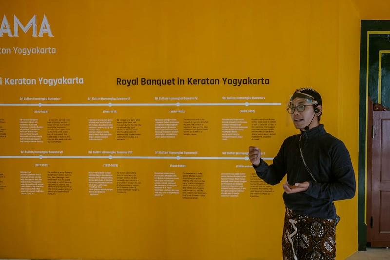 Fajar Widjanarko, Kurator Pameran BOJAKRAMA: Jamuan Kenegaraan Keraton Yogyakarta