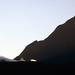 Le Soleil se lève sur le col du Taïbit