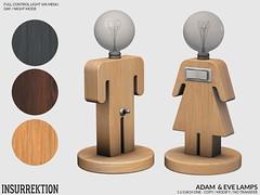 [IK] Adam & Eve Lamps